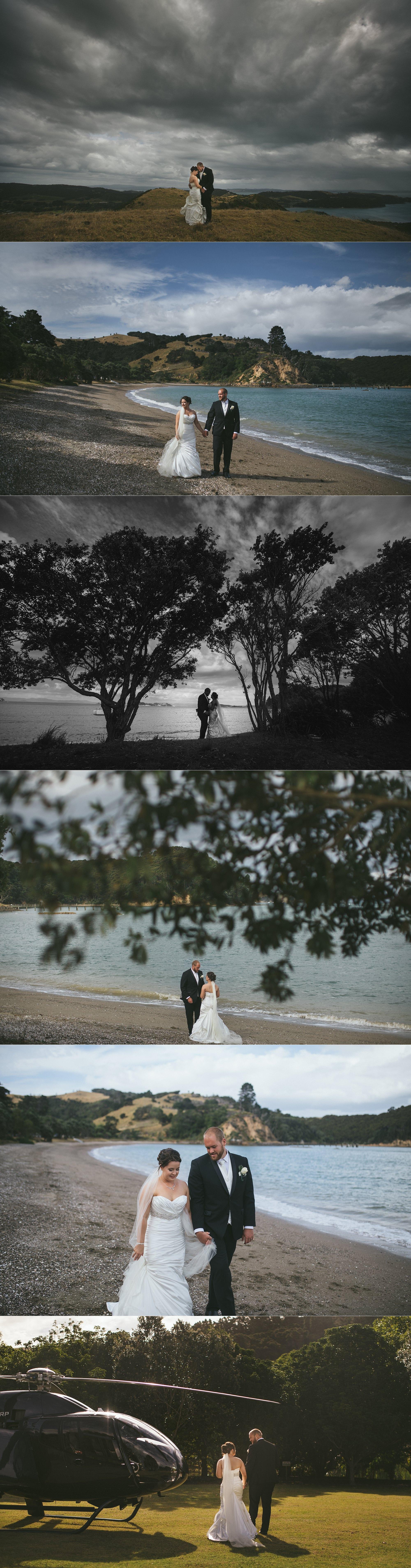 Cable Bay Waiheke wedding photos
