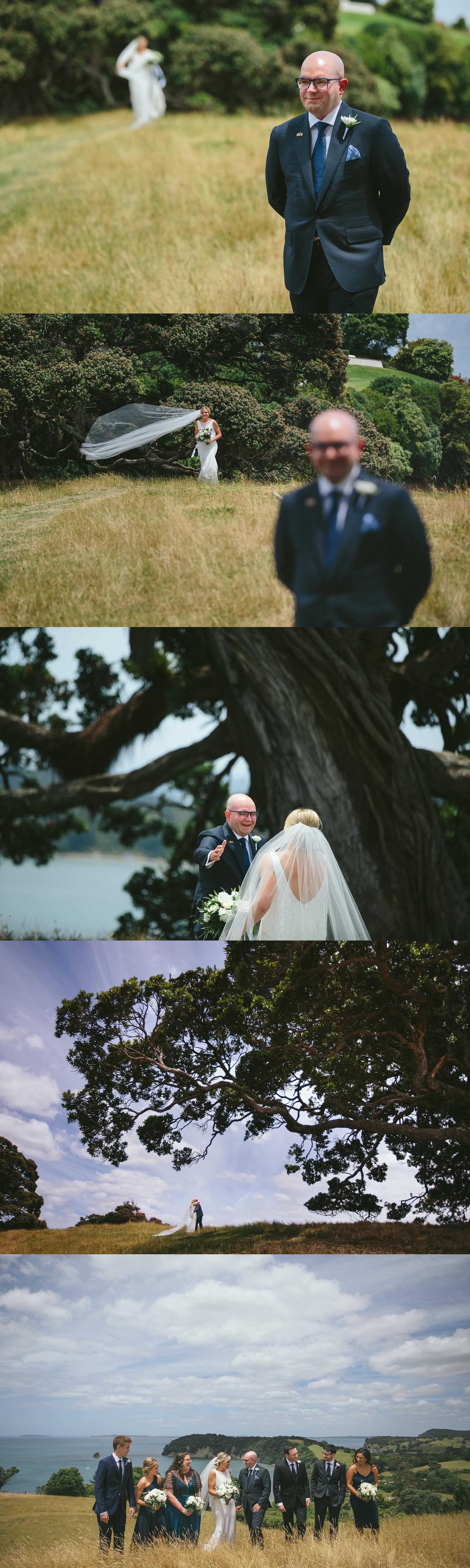 Mahurangi wedding photos