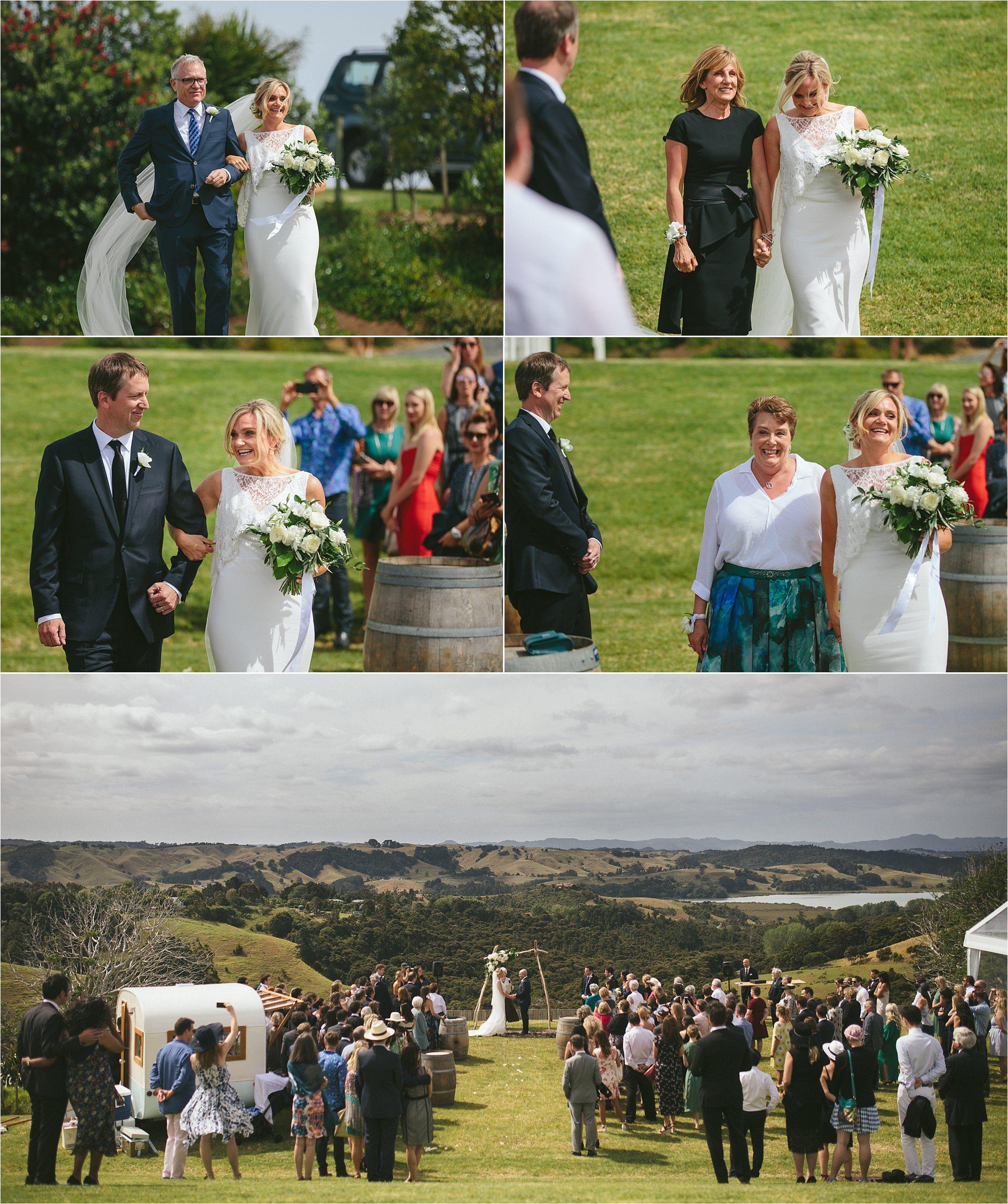 Mahurangi West Hall wedding