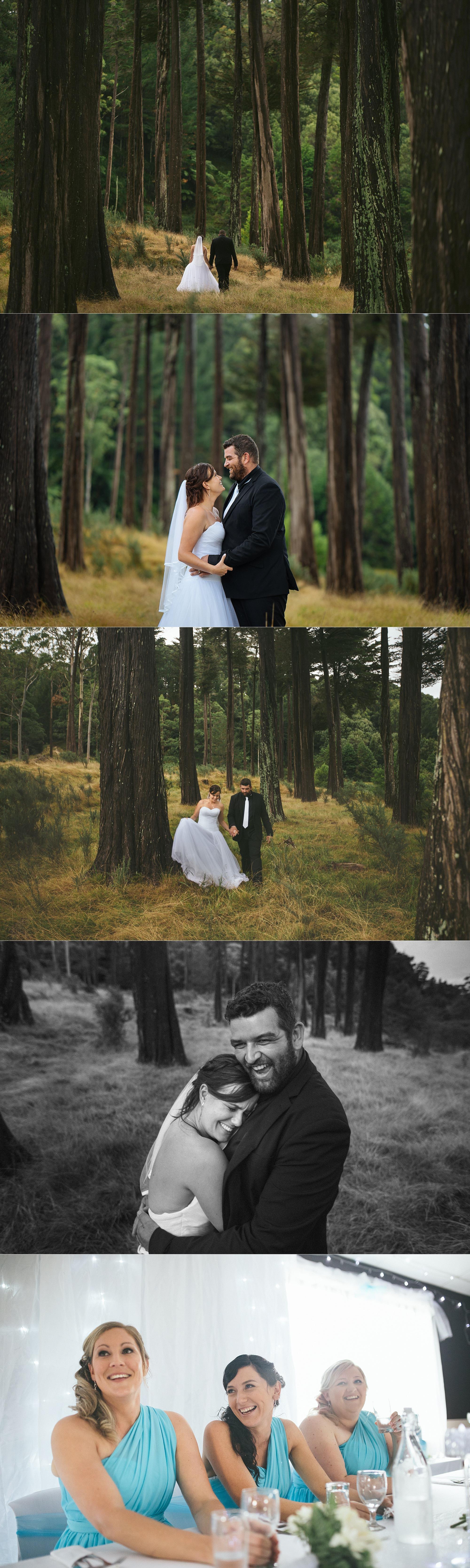 Ngamuwahine Lodge Tauranga wedding photos