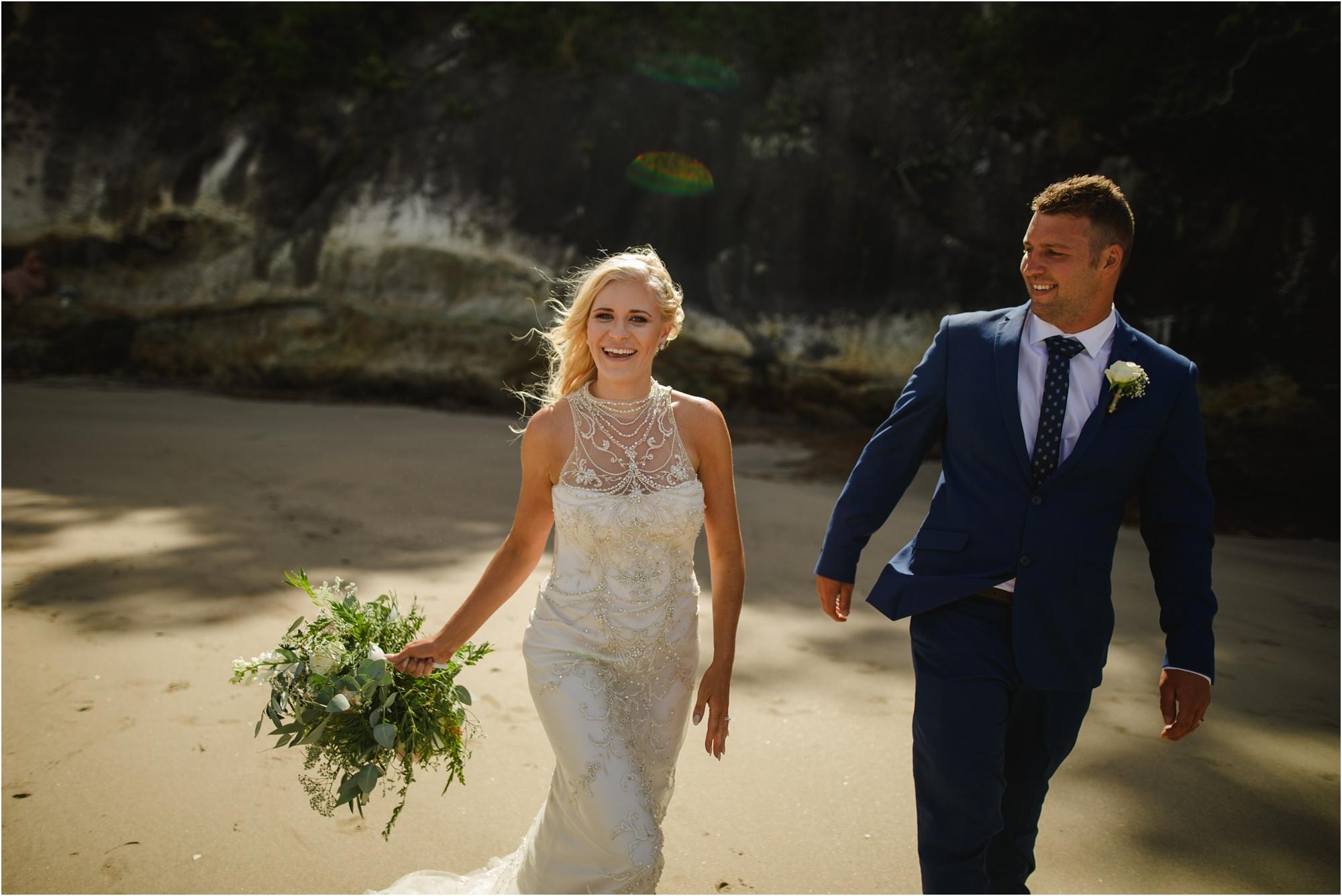 cooks beach wedding photos