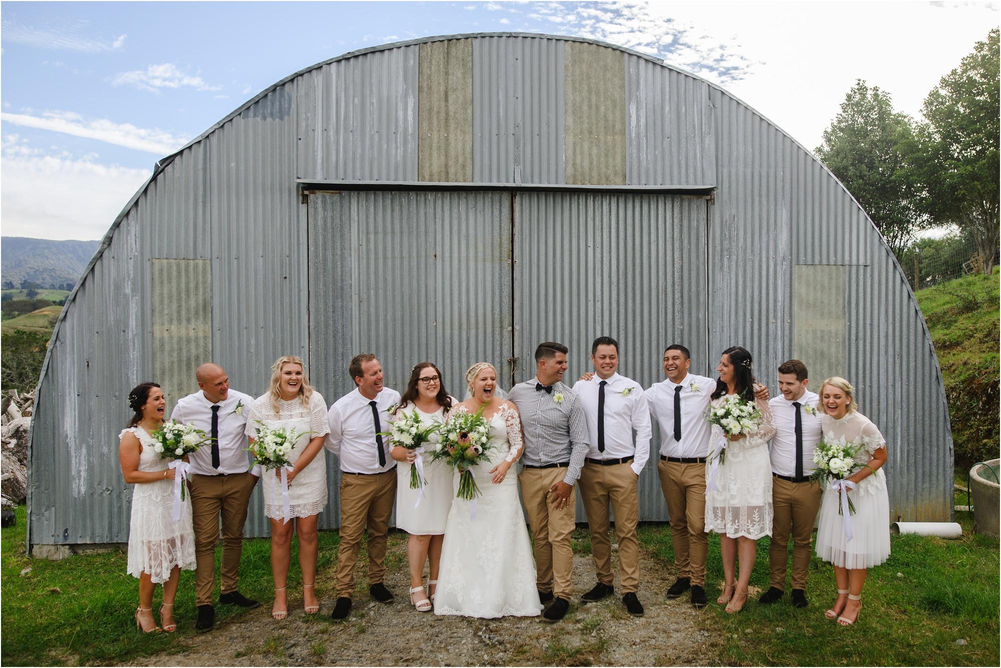 barn wedding tauranga