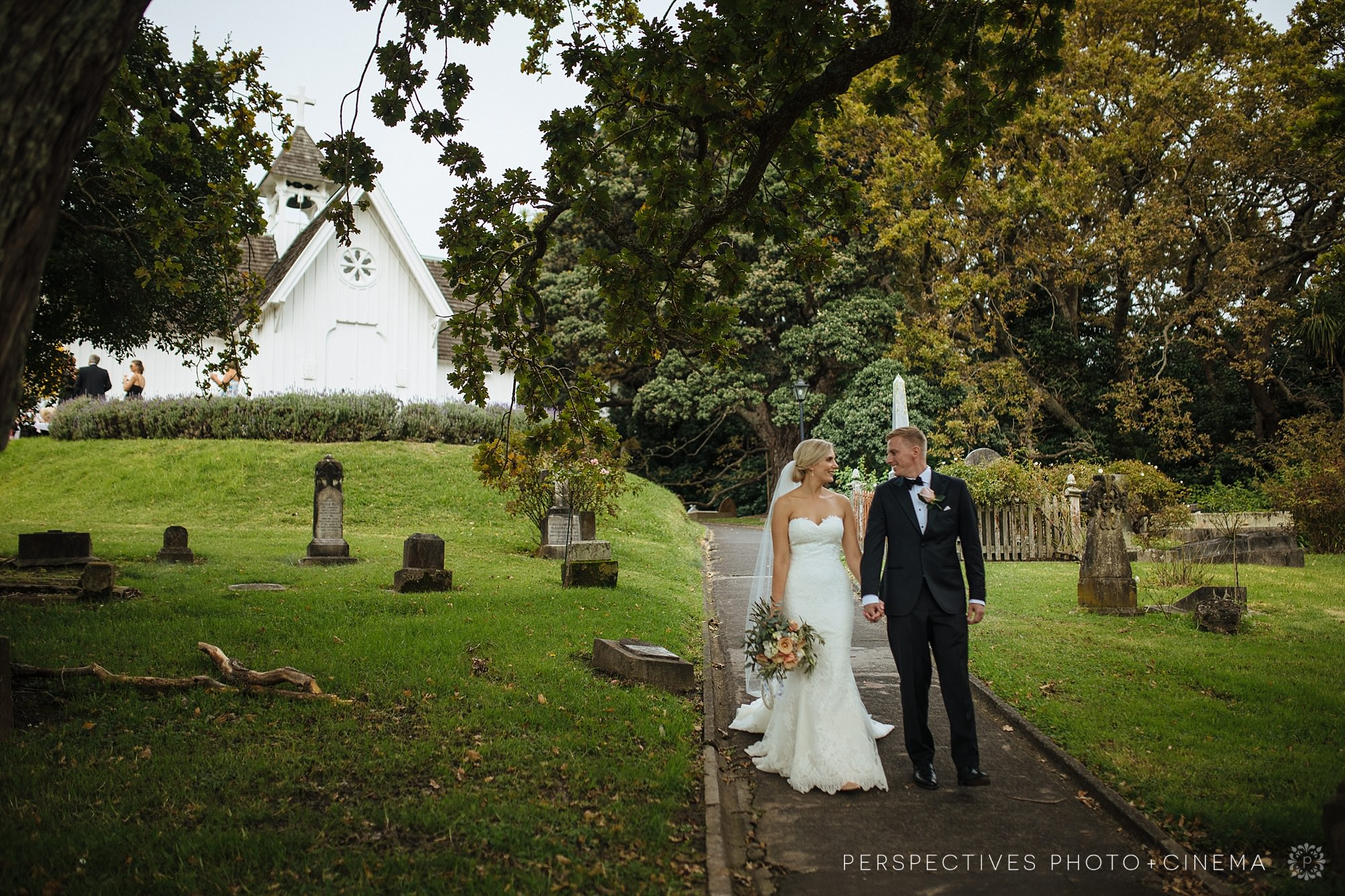 St Stephens chapel Auckland wedding