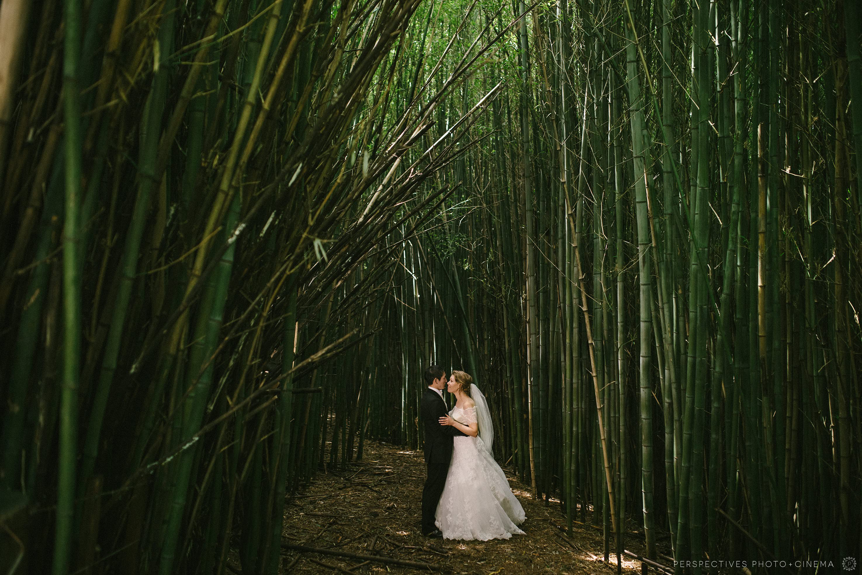 bamboo wedding photos