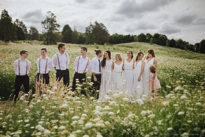 Auckland barn wedding photos
