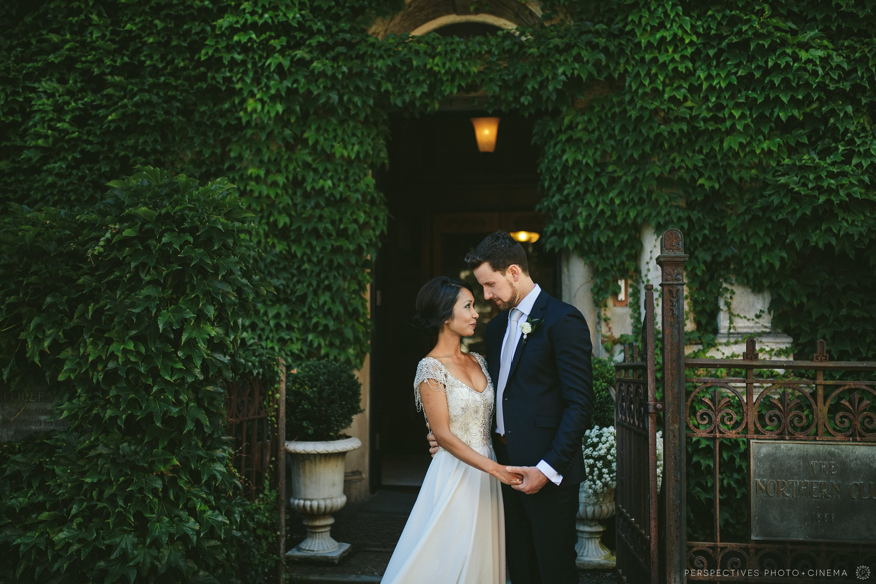 Auckland urban wedding photos