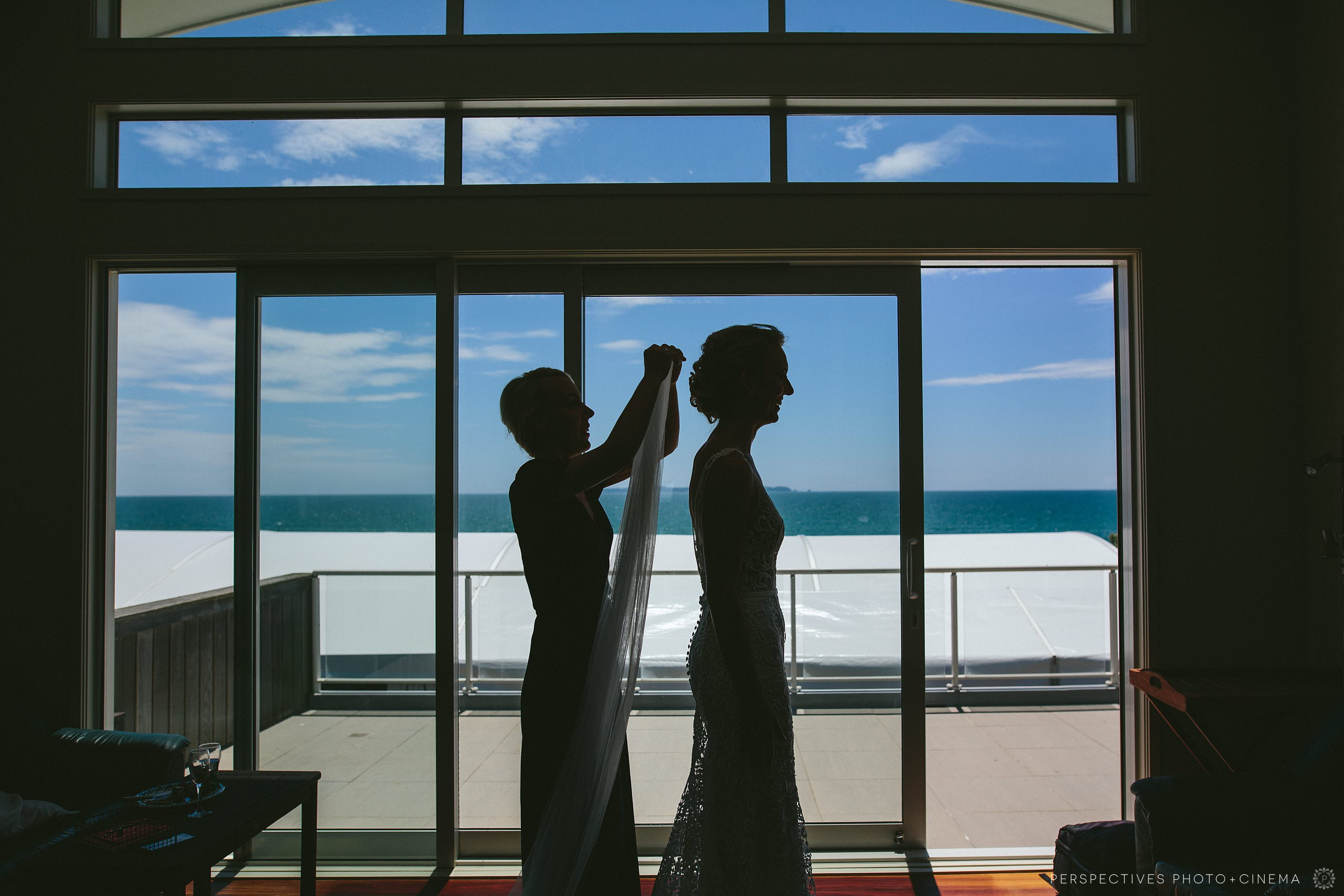 Papamoa beach marquee wedding