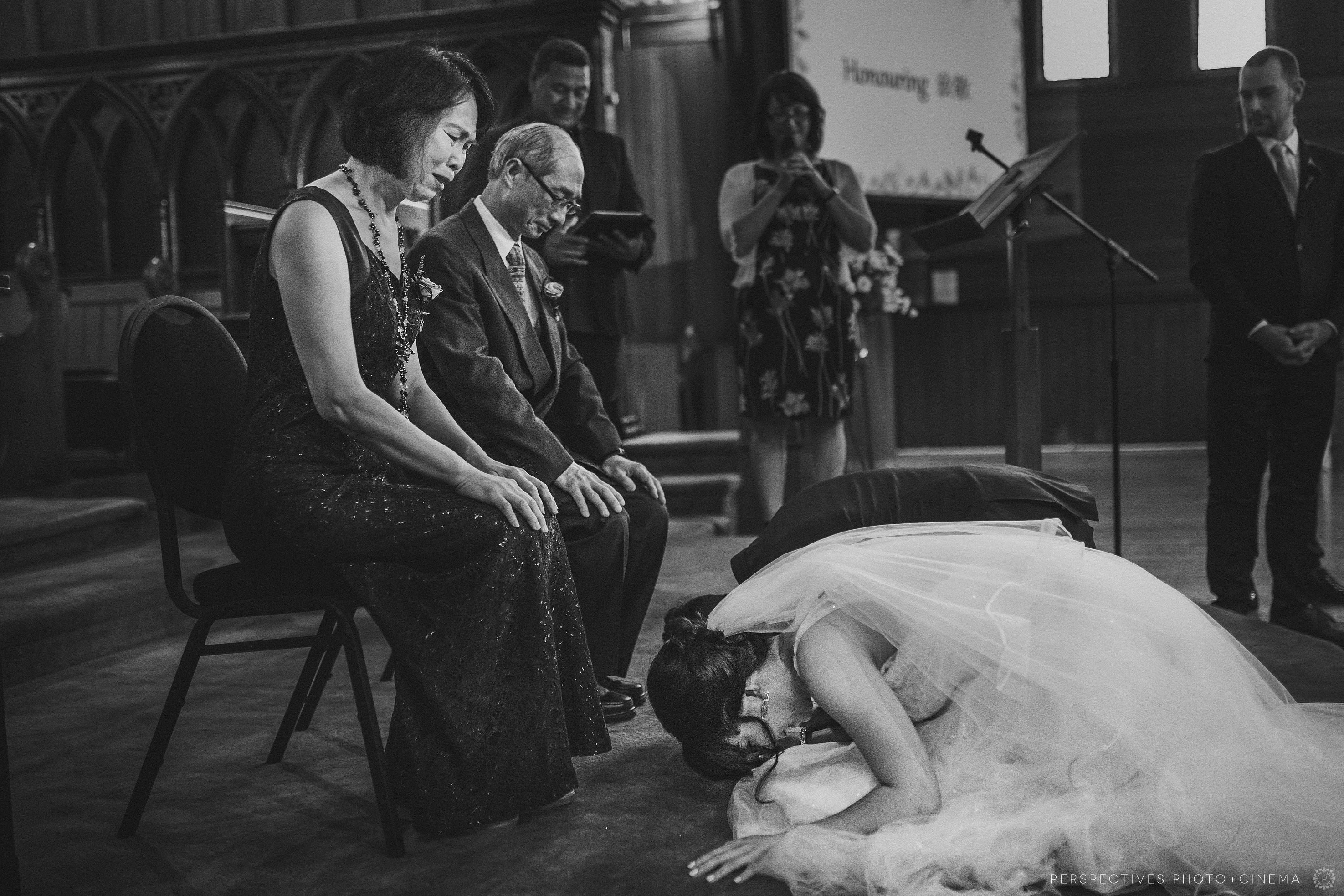 Holy Sepulchre wedding photos Auckland