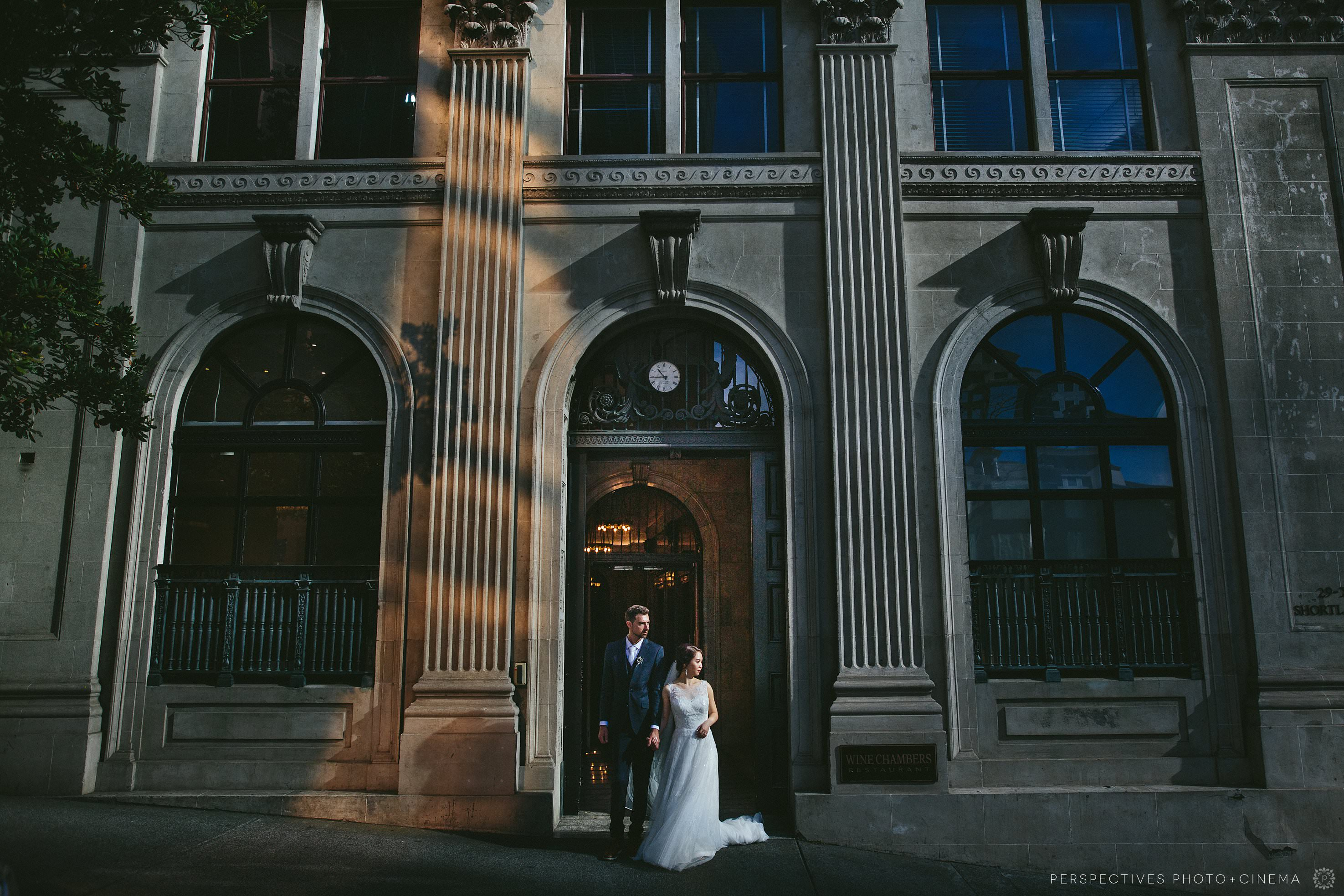 urban city wedding photos Auckland
