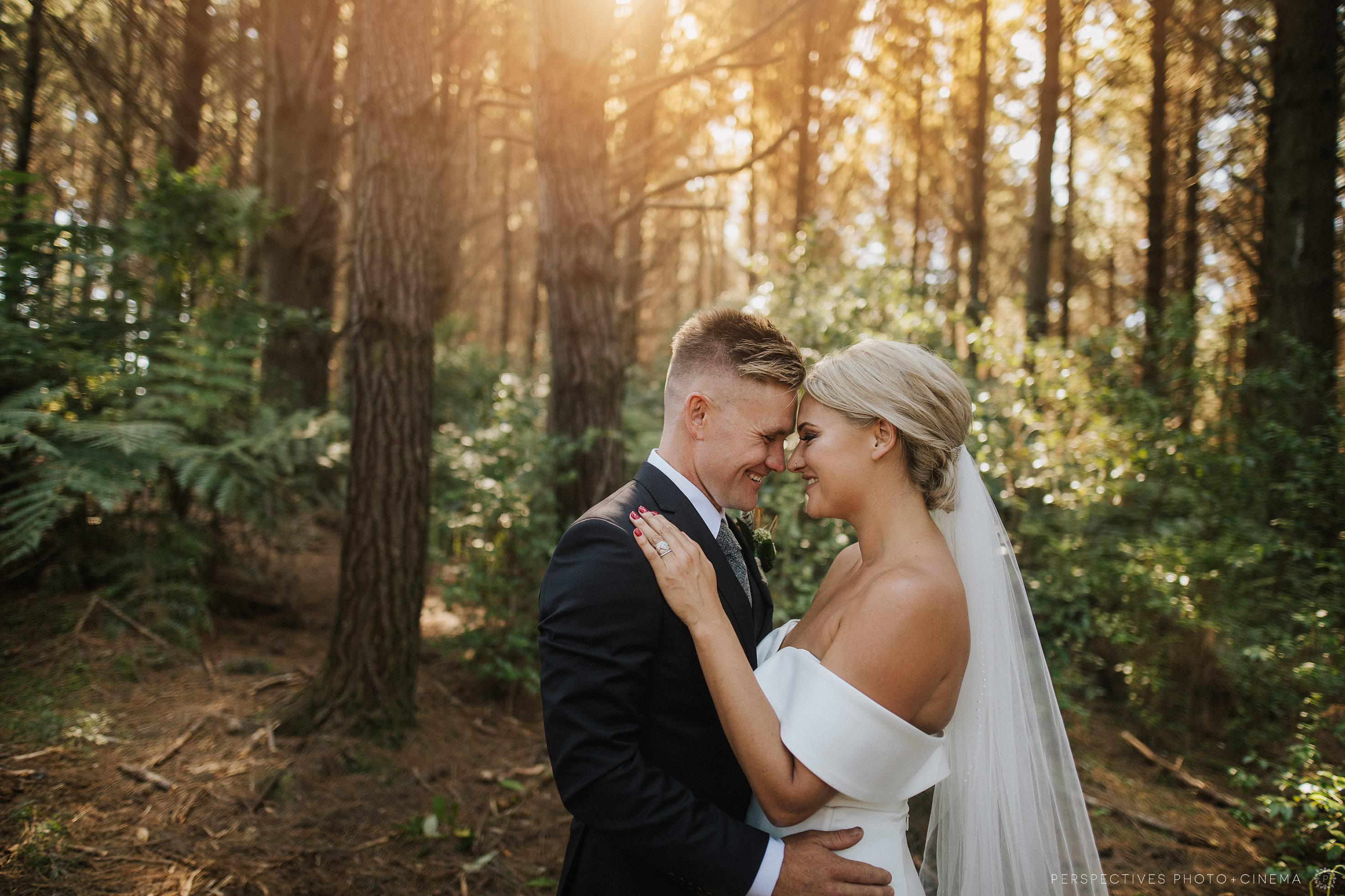 Hunting Lodge wedding photos