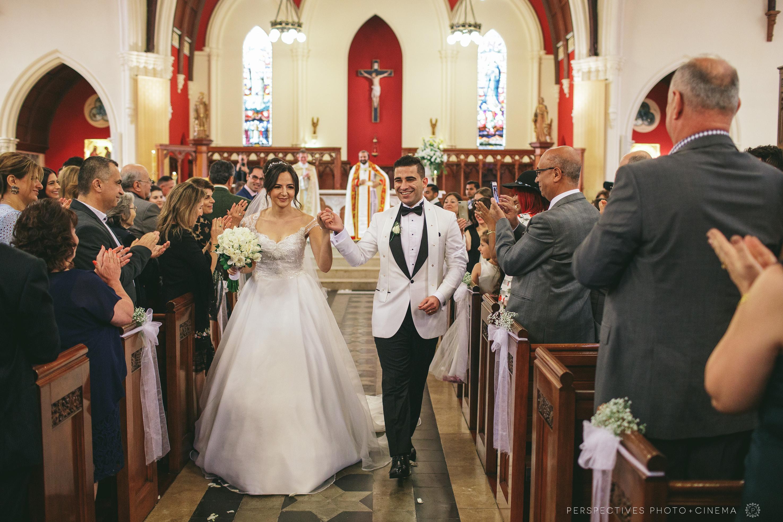 st patricks auckland wedding
