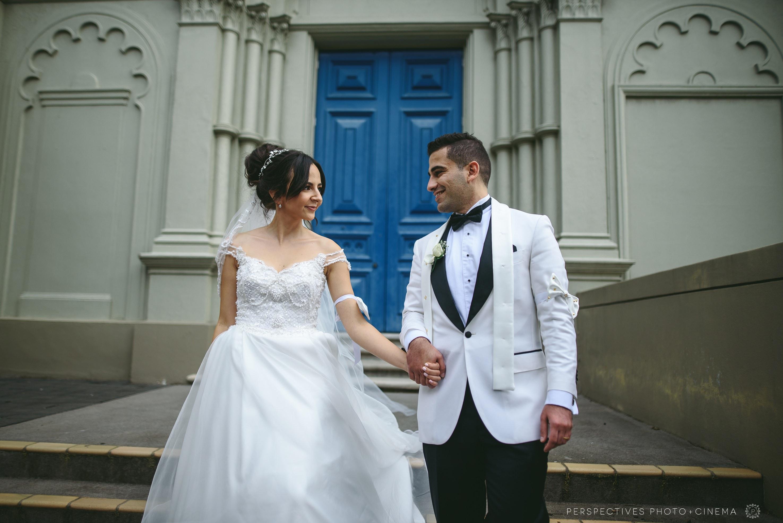 auckland urban wedding
