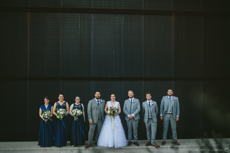 Urban Wellington city wedding photos