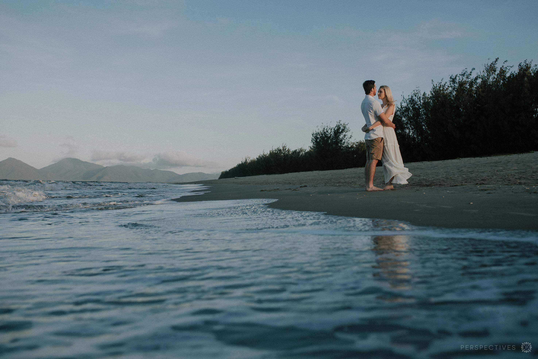 Auckland beach engagement photos