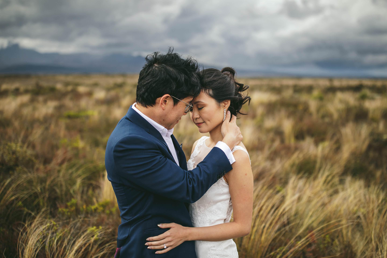 National park wedding photos