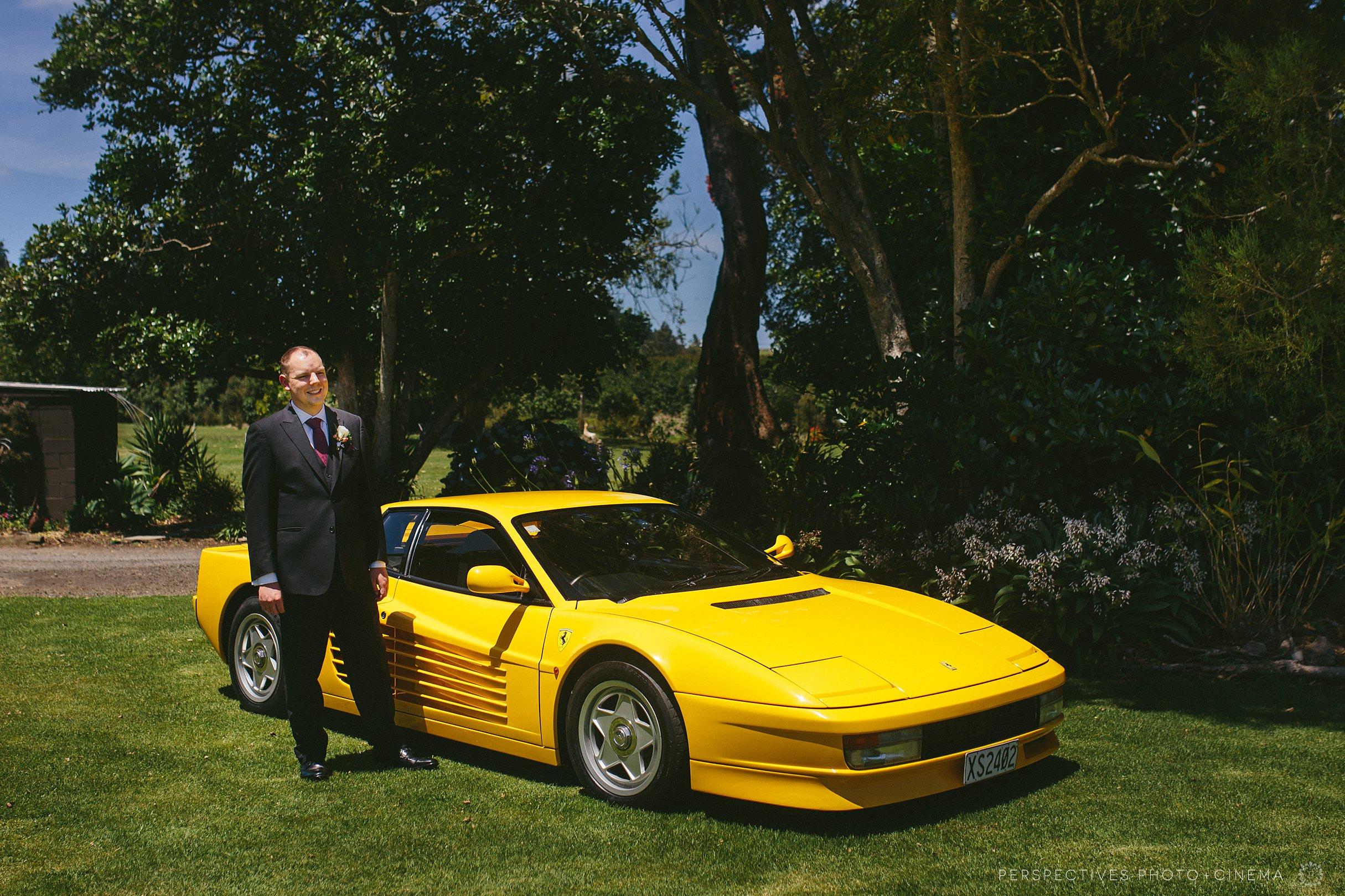 Ferrari wedding cars Auckland
