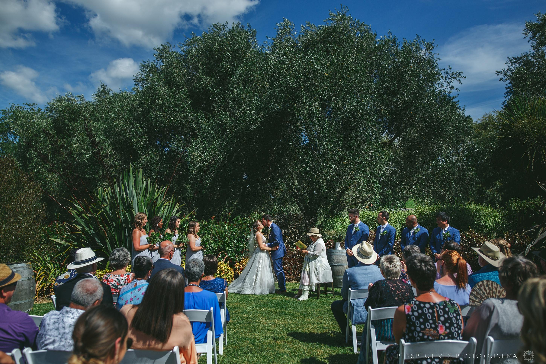 Hunting lodge wedding