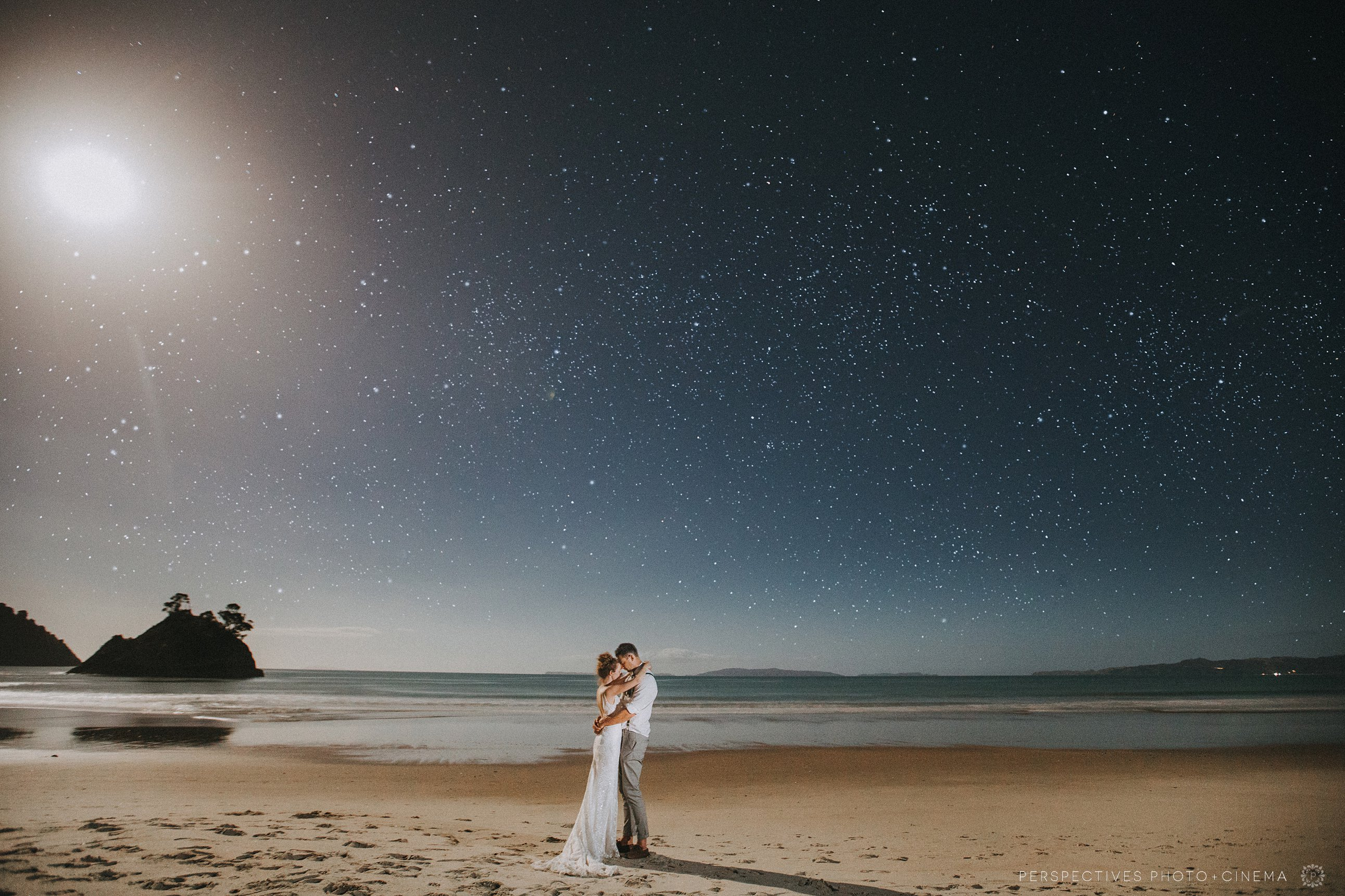 Star photo wedding Coromandel