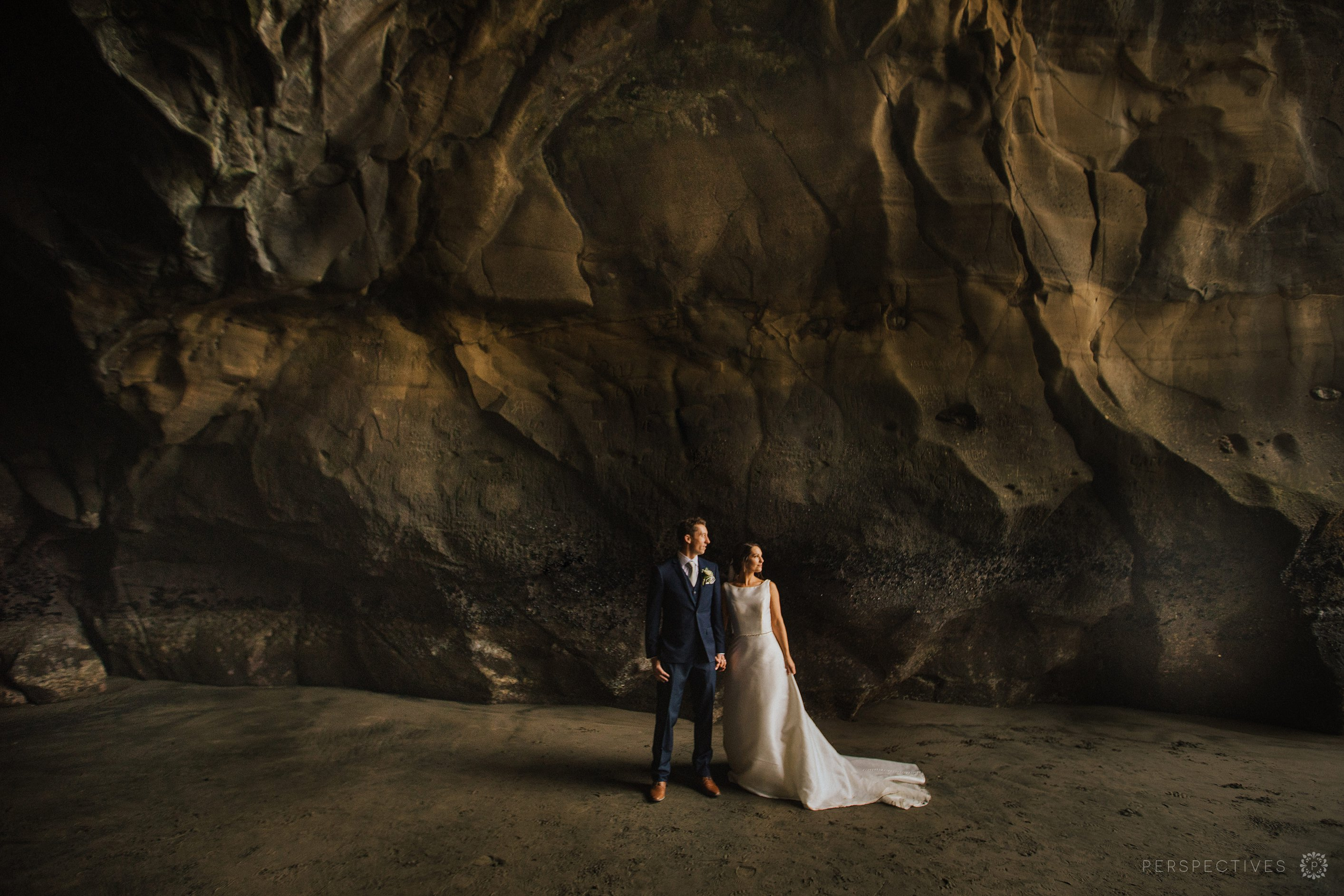 Muriwai beach Auckland beach wedding photo location