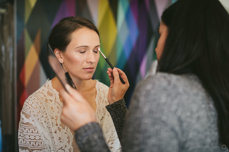 Wedding makeup artist in Auckland