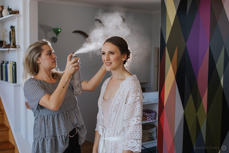 Wedding hairstyle ideas Auckland wedding photos