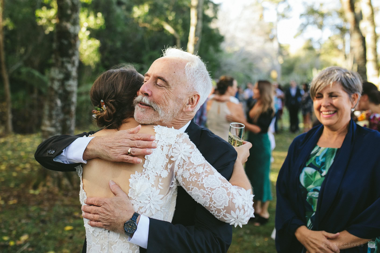 Post wedding ceremony congratulations
