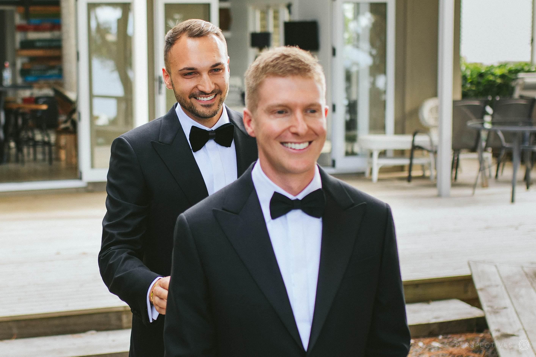 gay wedding Auckland photographers