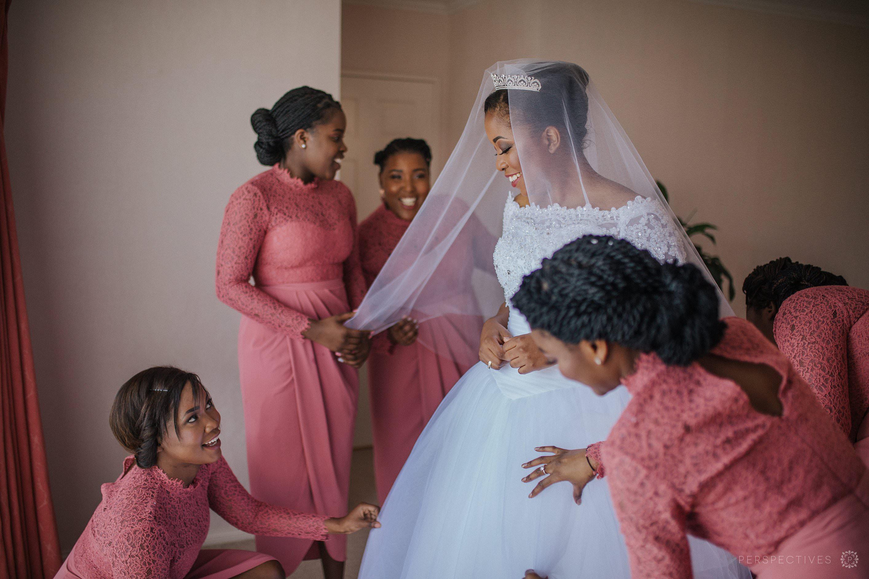 Auckland bride getting dressed wedding photos