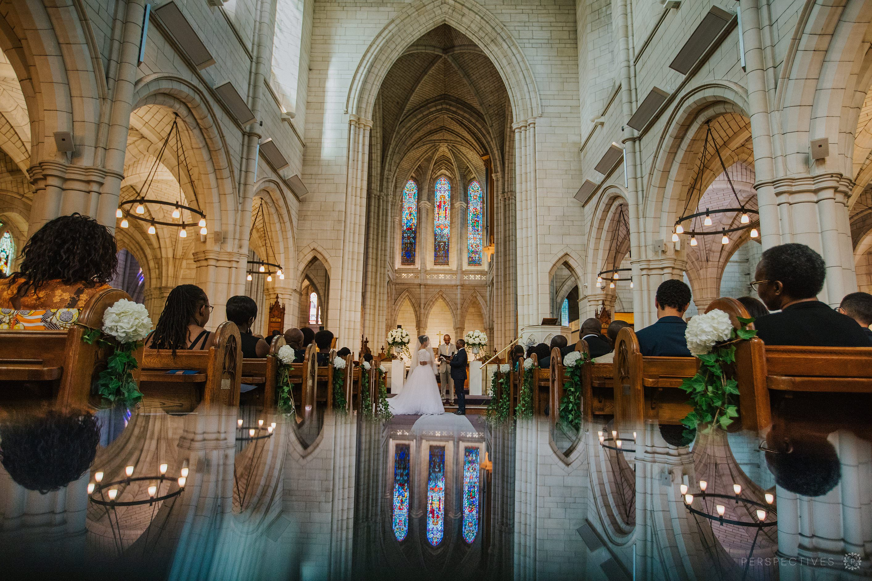 St Matthew in the City church wedding venue Auckland