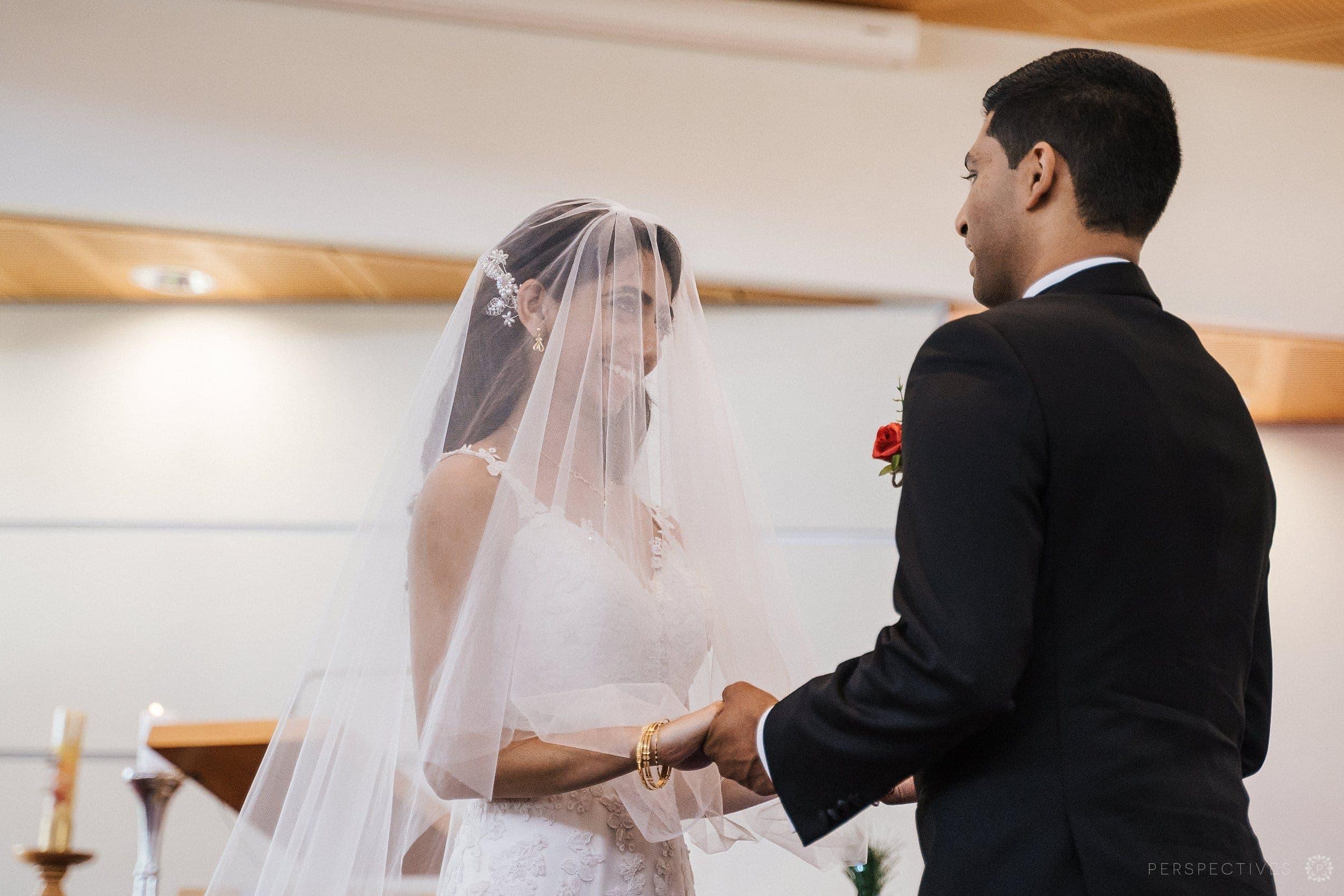 Christ the King Catholic wedding ceremony Auckland