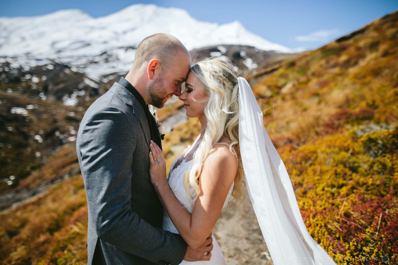 Tongariro wedding photos