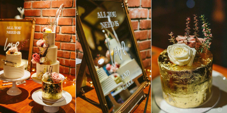 Just Jess Wedding cake