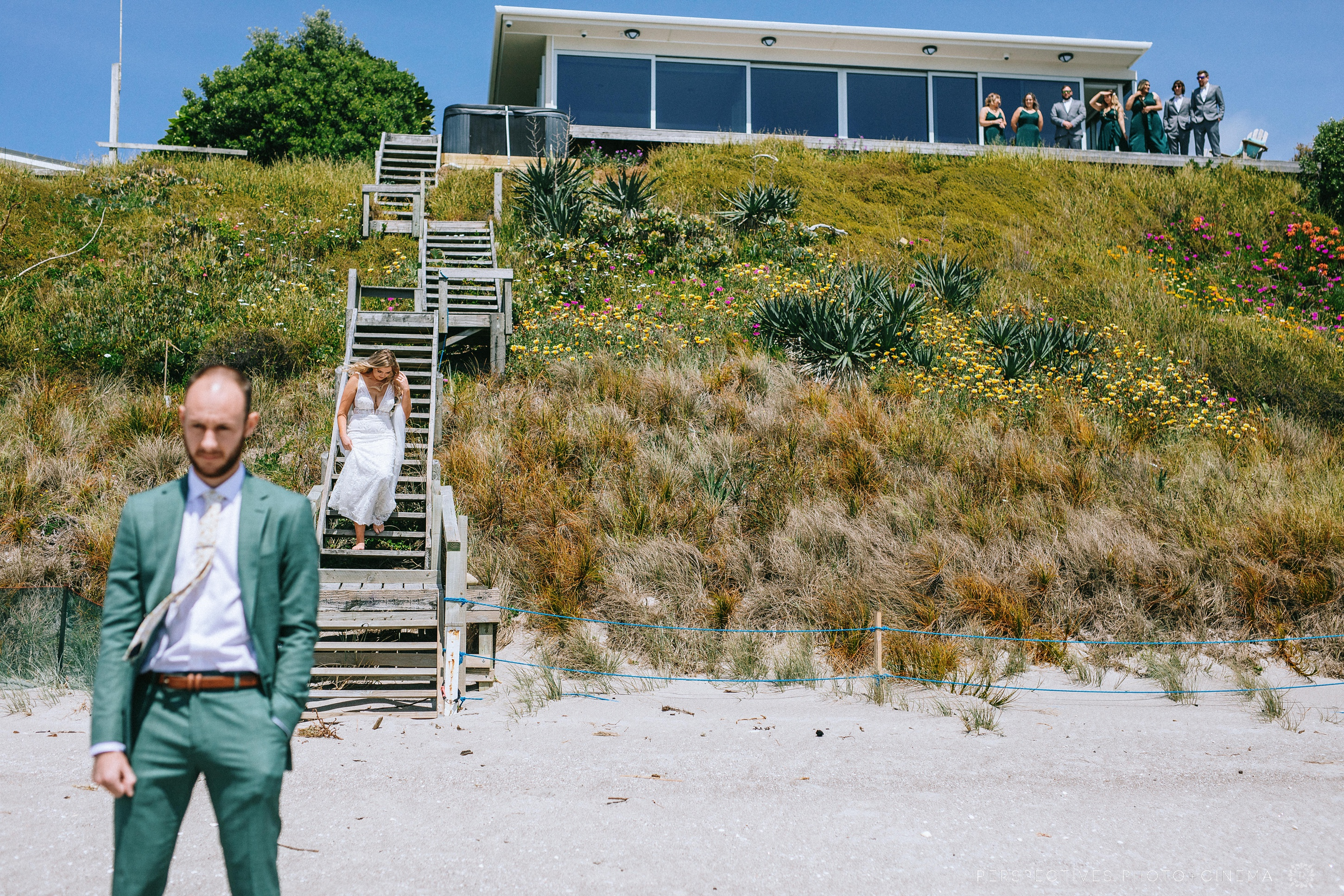 Pukehina beach wedding