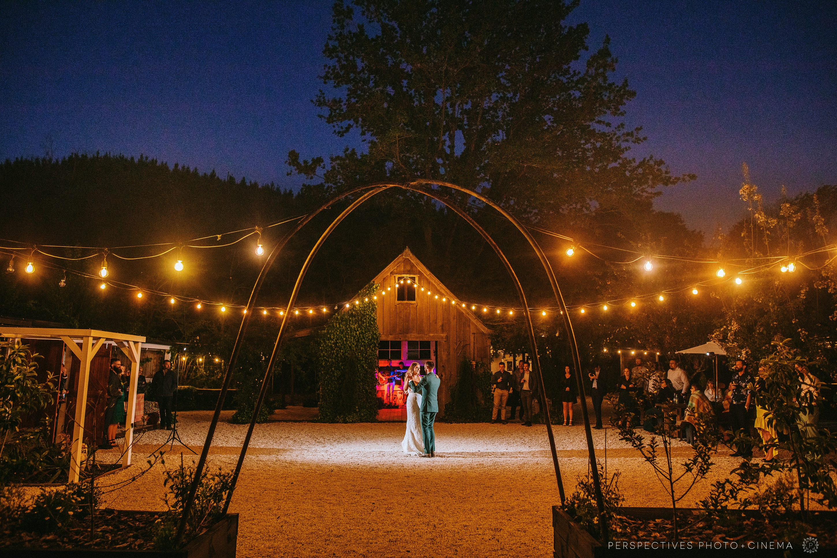 Old forest school wedding