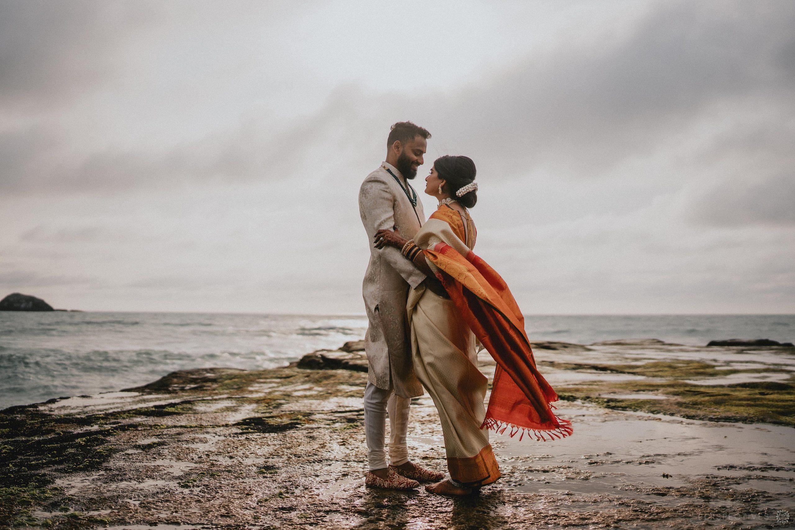 Muriwai beach wedding photography locations