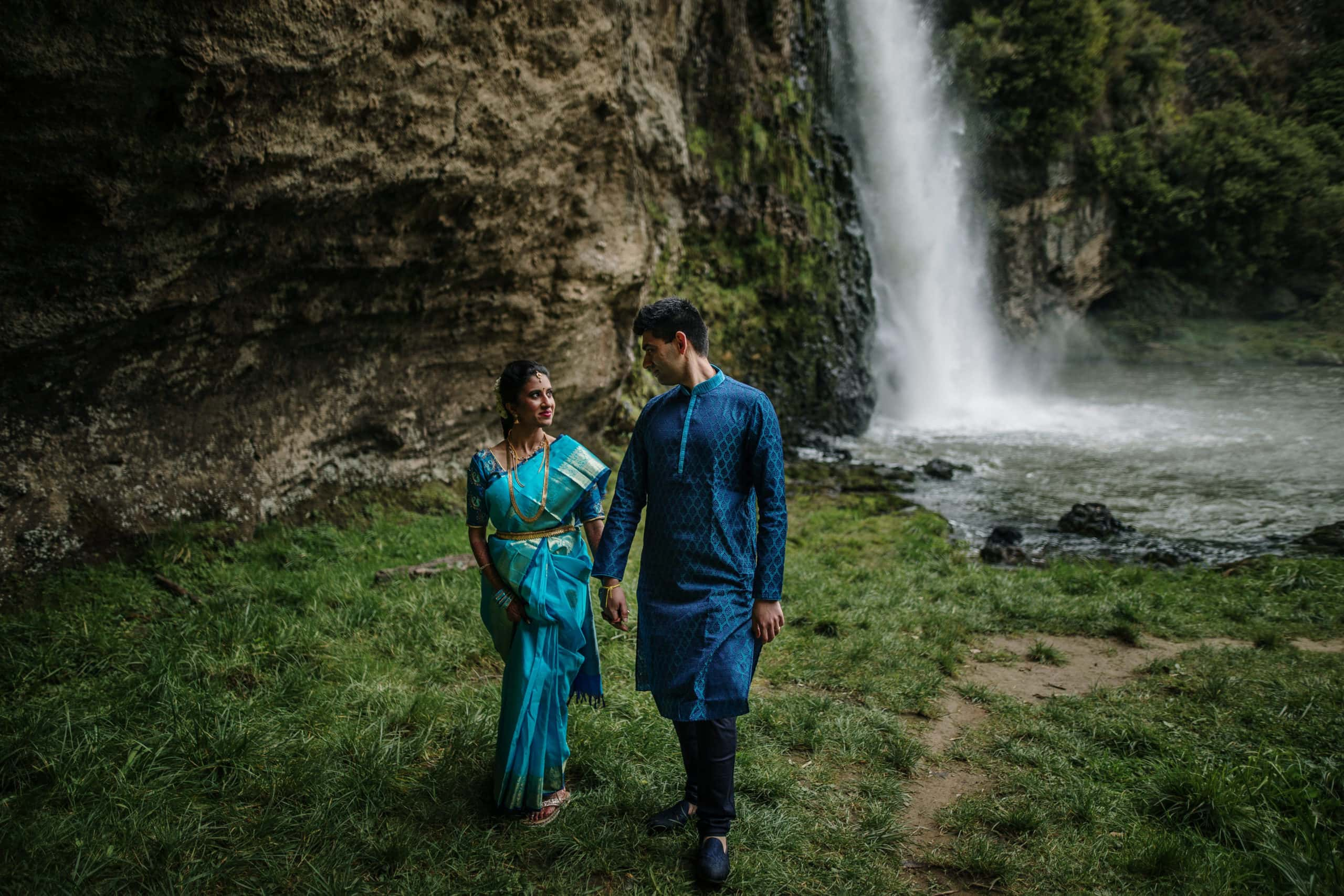 Hunua Falls wedding photos