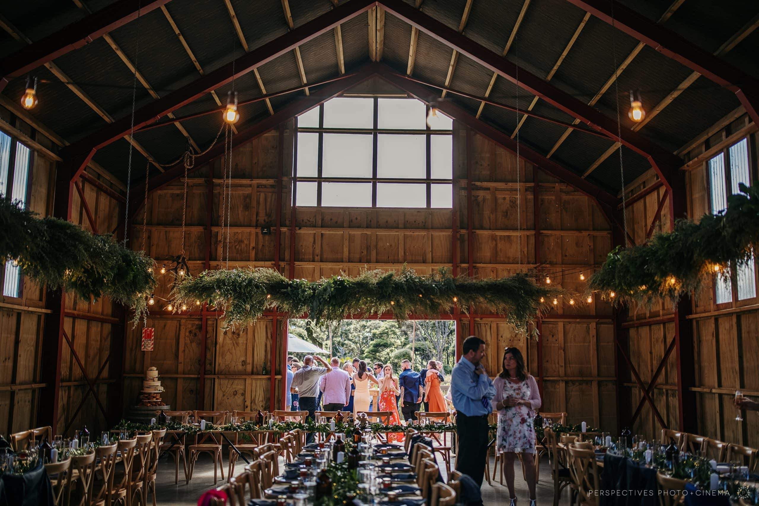 Auckland Barn wedding