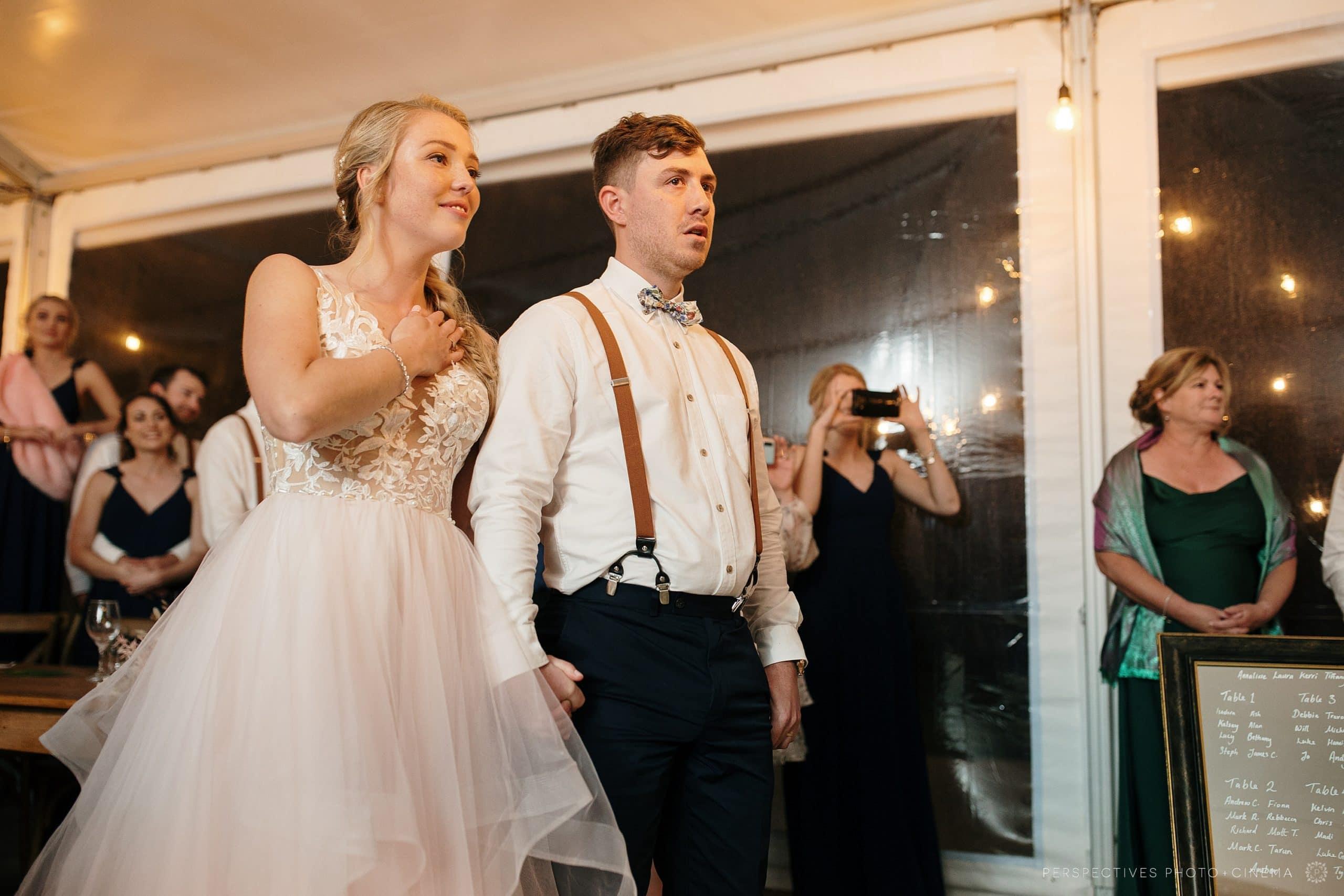 Bayly's farm wedding