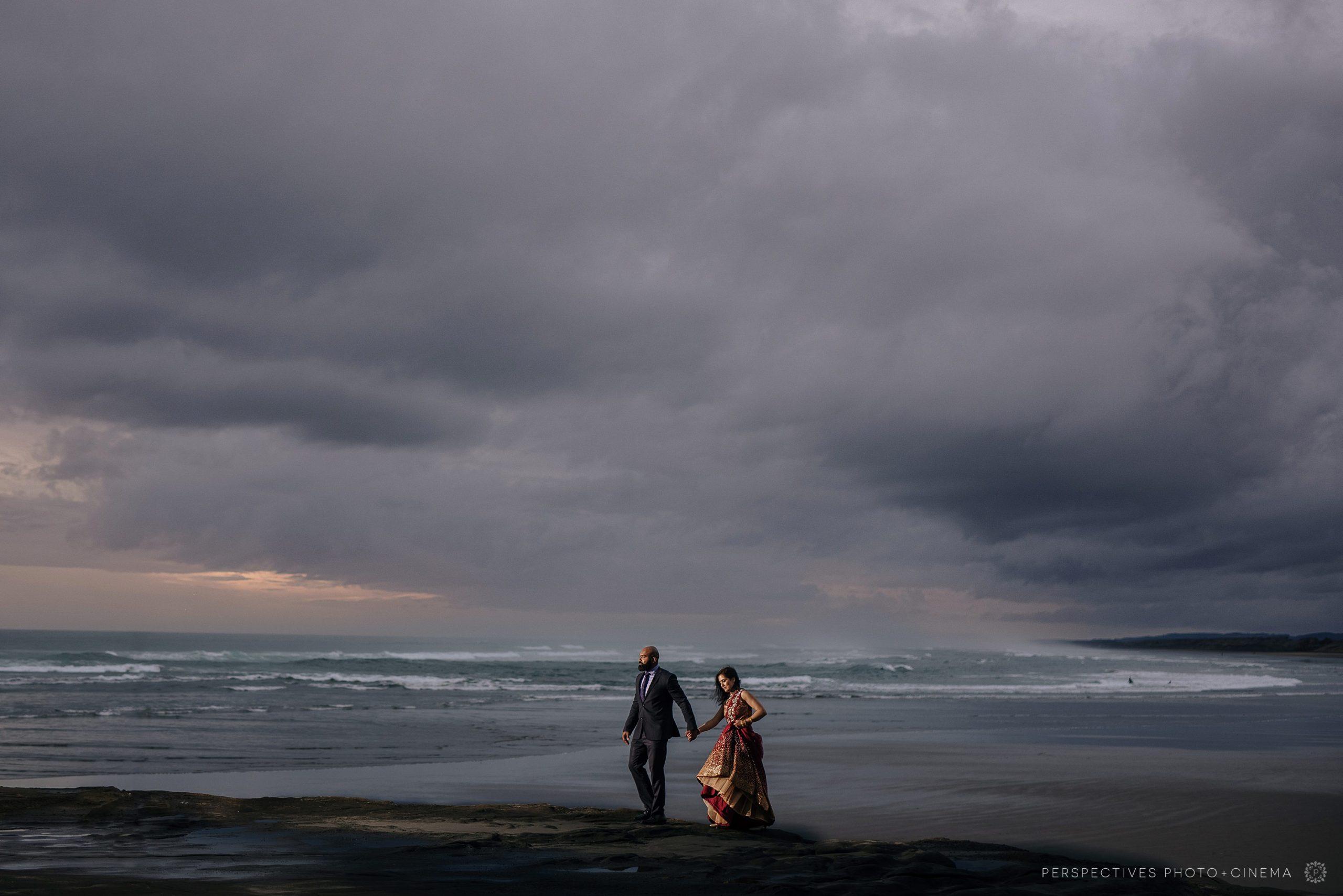 Auckland Wedding Photographer at Muriwai Beach