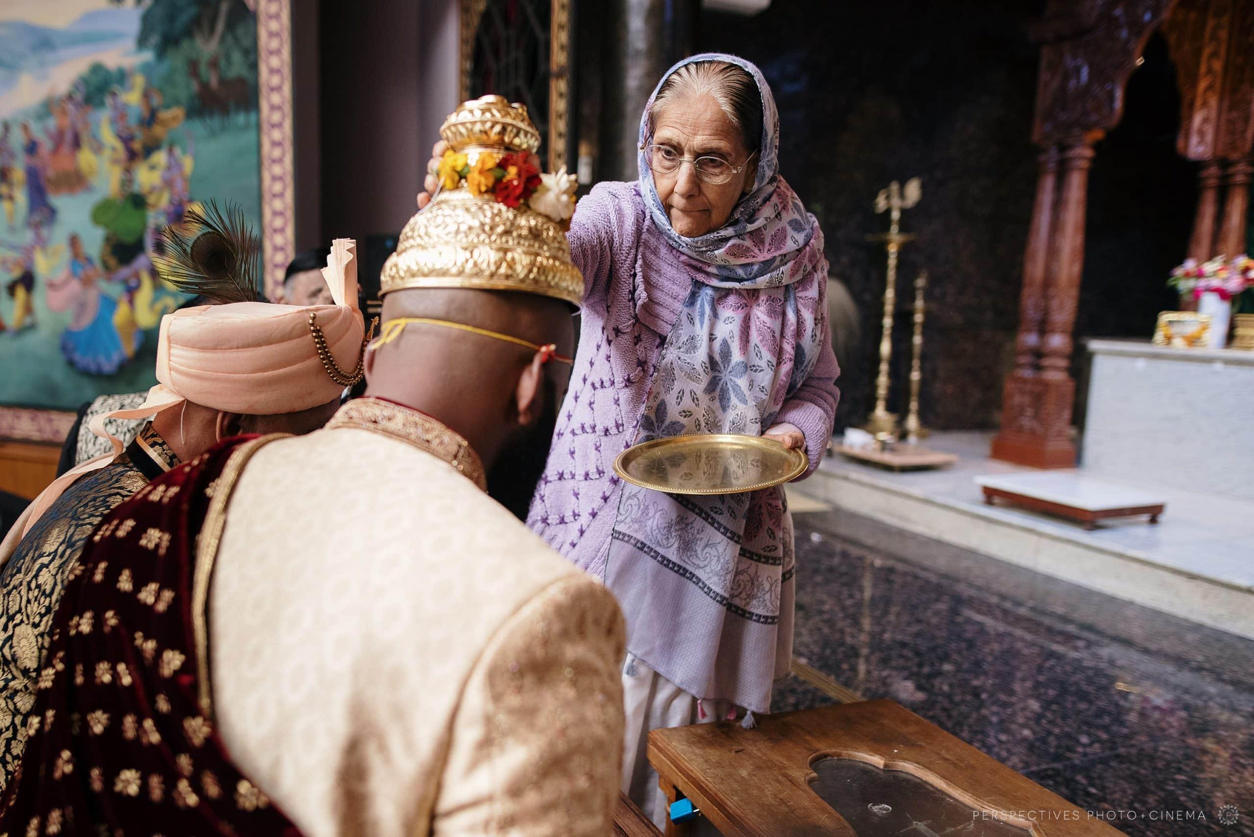 Hare krishna wedding