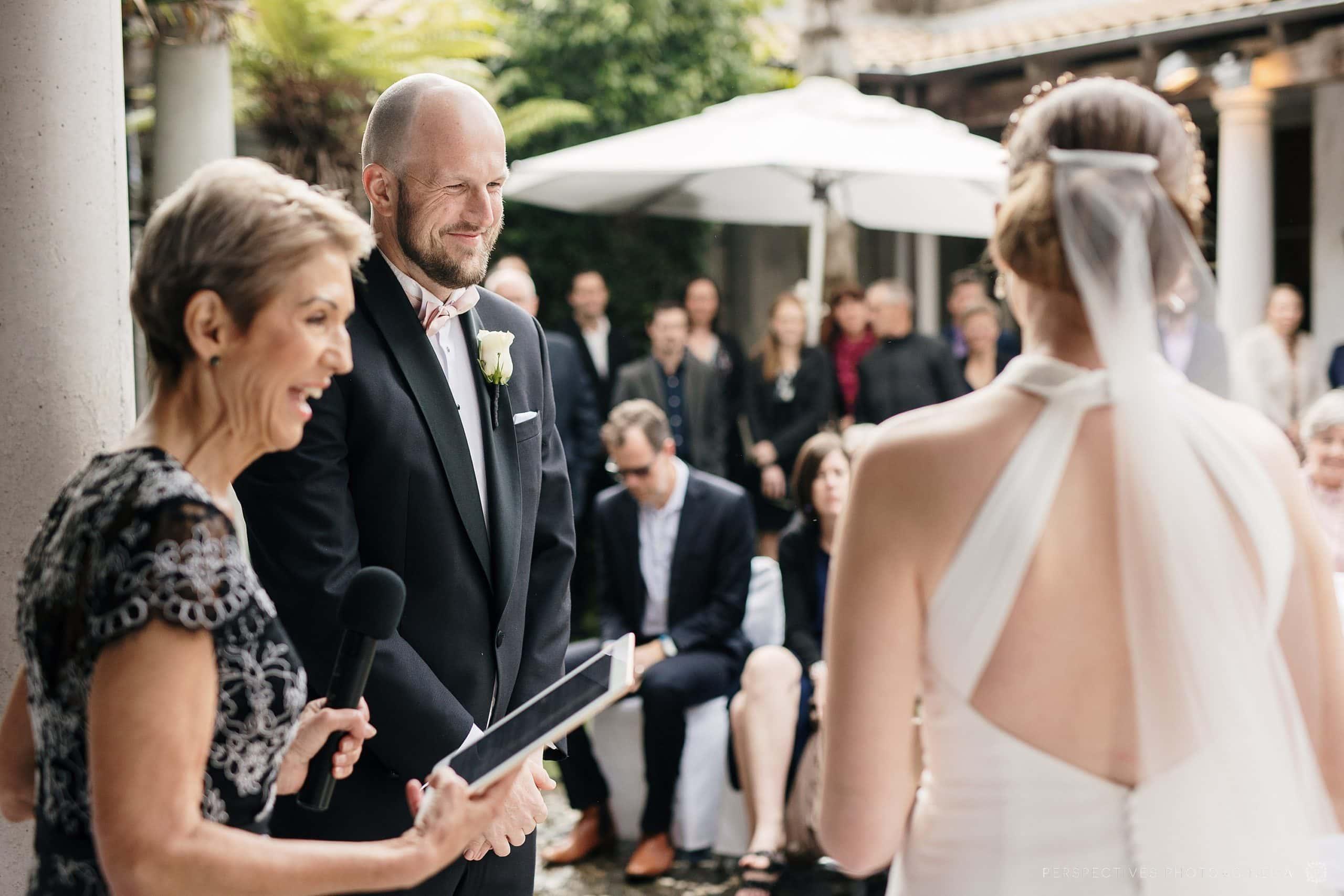 Mantells Mt Eden wedding