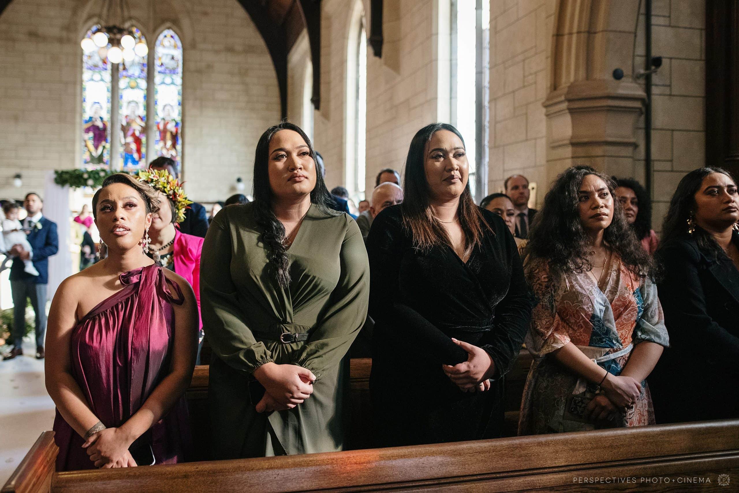 wedding St Luke church Auckland