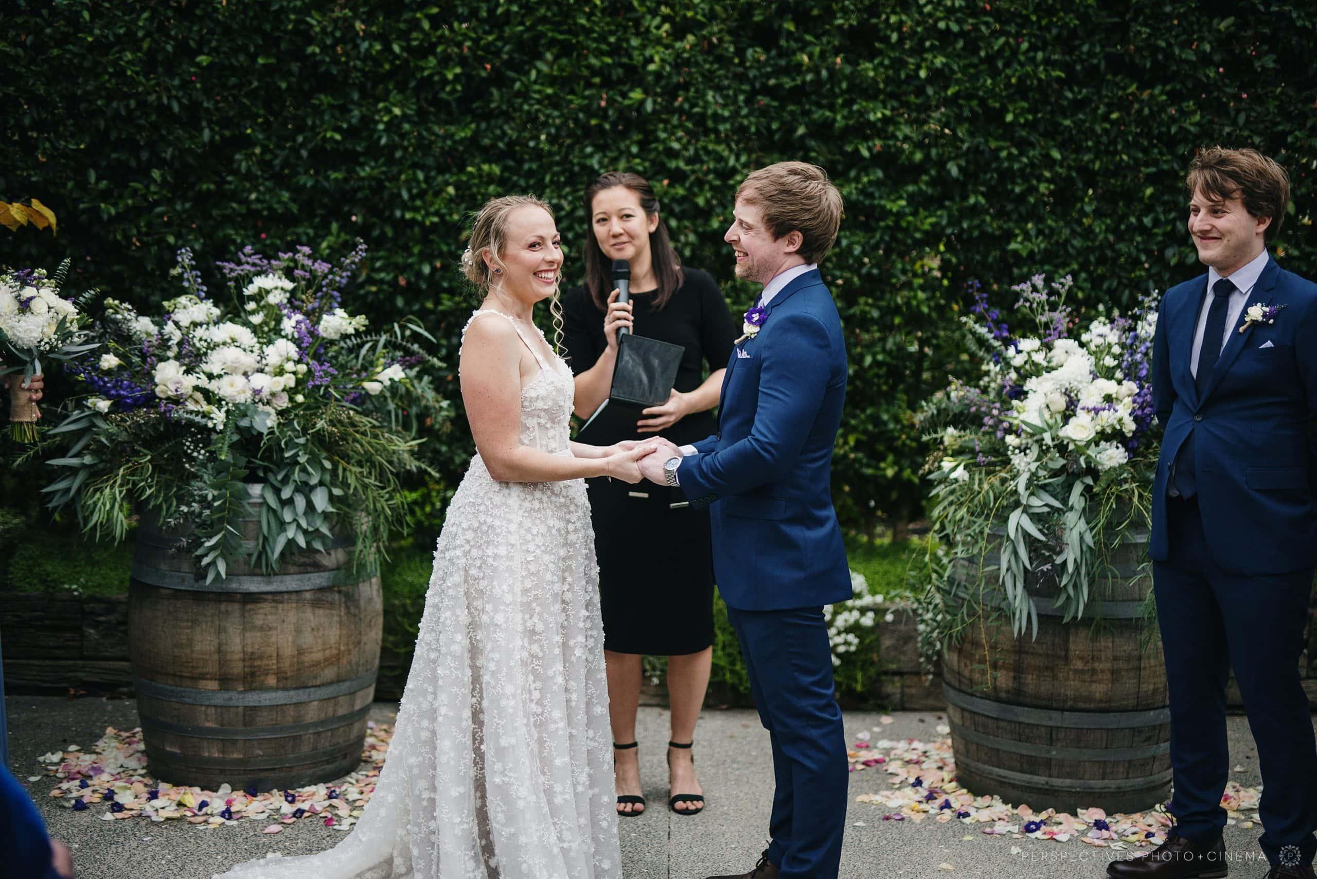 Mudbrick lodge wedding