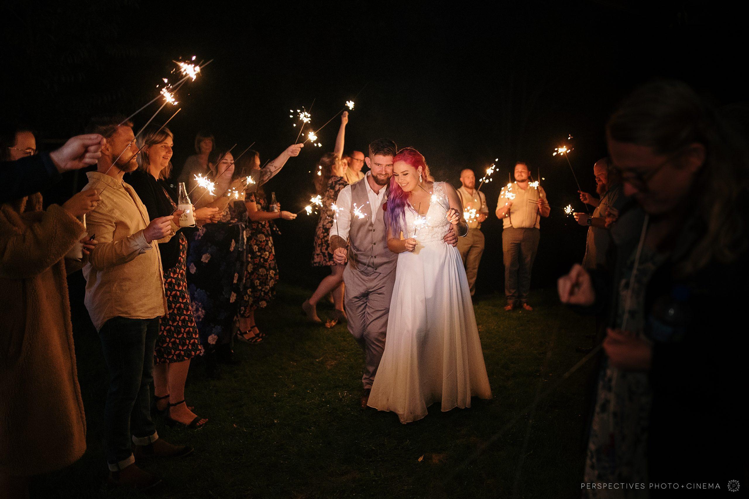 wedding sparklers auckland
